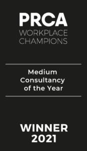 PRCA Workplace Champions Winner 2021